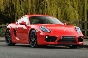 2013 Porsche Cayman S 981 PDK Coupe Guards Red PASM PSE BOSE
