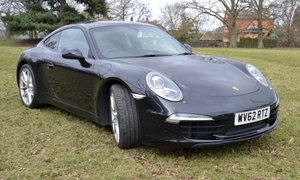 2012 Porsche 991 Carrera S Manual