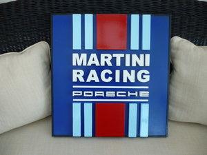Martini Racing Porsche 3D Sign