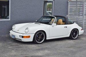 1990 Porsche 911 Targa 964 C2 very Rare 1 of 158 Ivory $64.