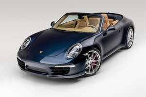 2012 Porsche 911 Carrera S Cabriolet 7-Speed PDK Blue $59.9k