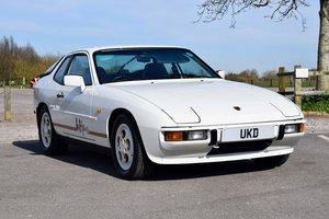 PORSCHE 924S LE MANS EDITION ALPINE WHITE 1988 2.5