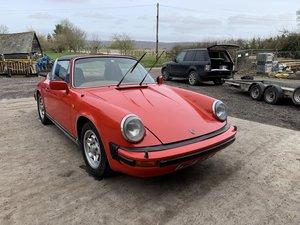 1976 PORSCHE 911 2.7 TARGA RHD UK CAR For Sale