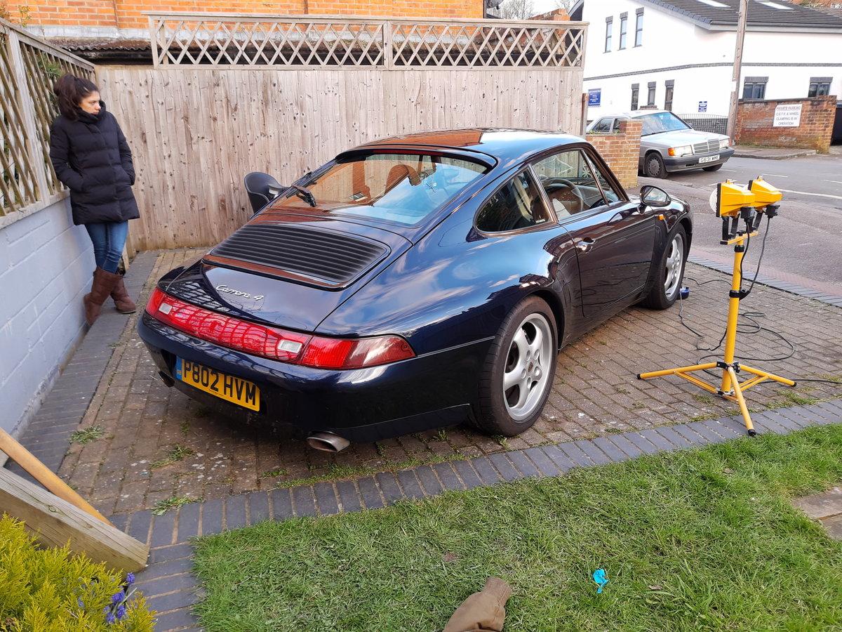 1996 Porsche 993 Carrera 4 varioram  For Sale (picture 3 of 5)
