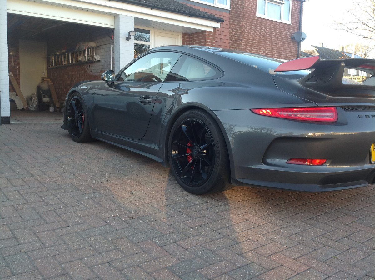 2015 PORSCHE 991 GT3  LHD For Sale (picture 1 of 6)