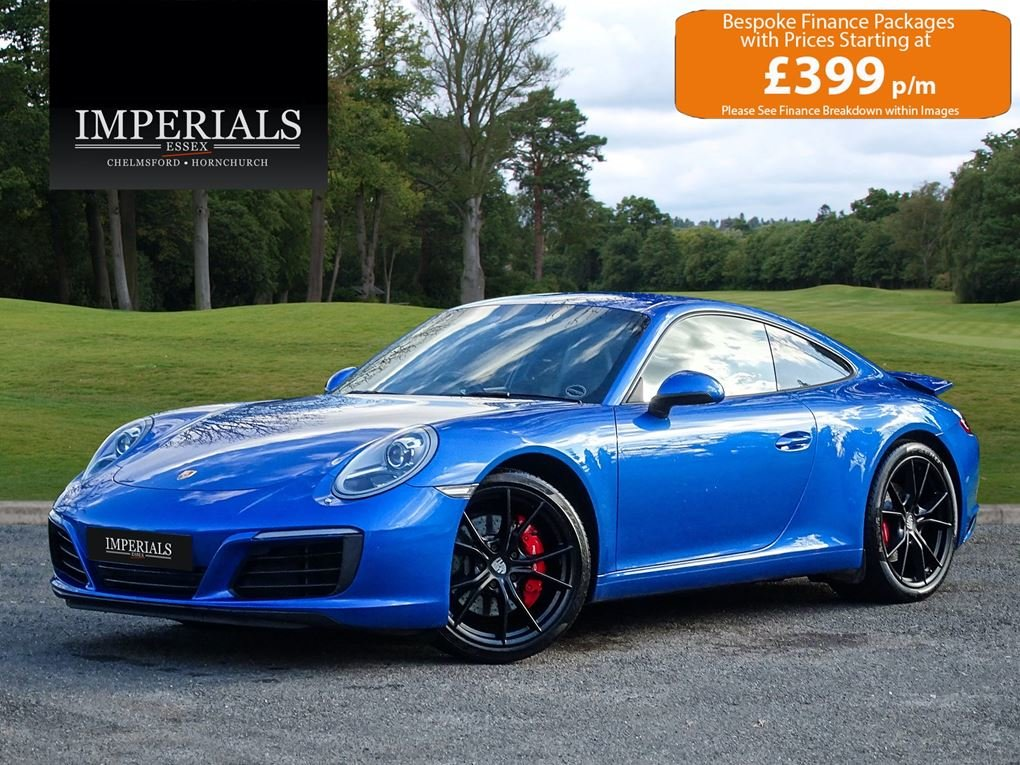 2017 Porsche  911  991 CARRERA S COUPE VAT Q PDK AUTO  66,948 For Sale (picture 1 of 24)