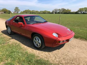 1983 Porsche 928 Rare factory Manual immaculate For Sale