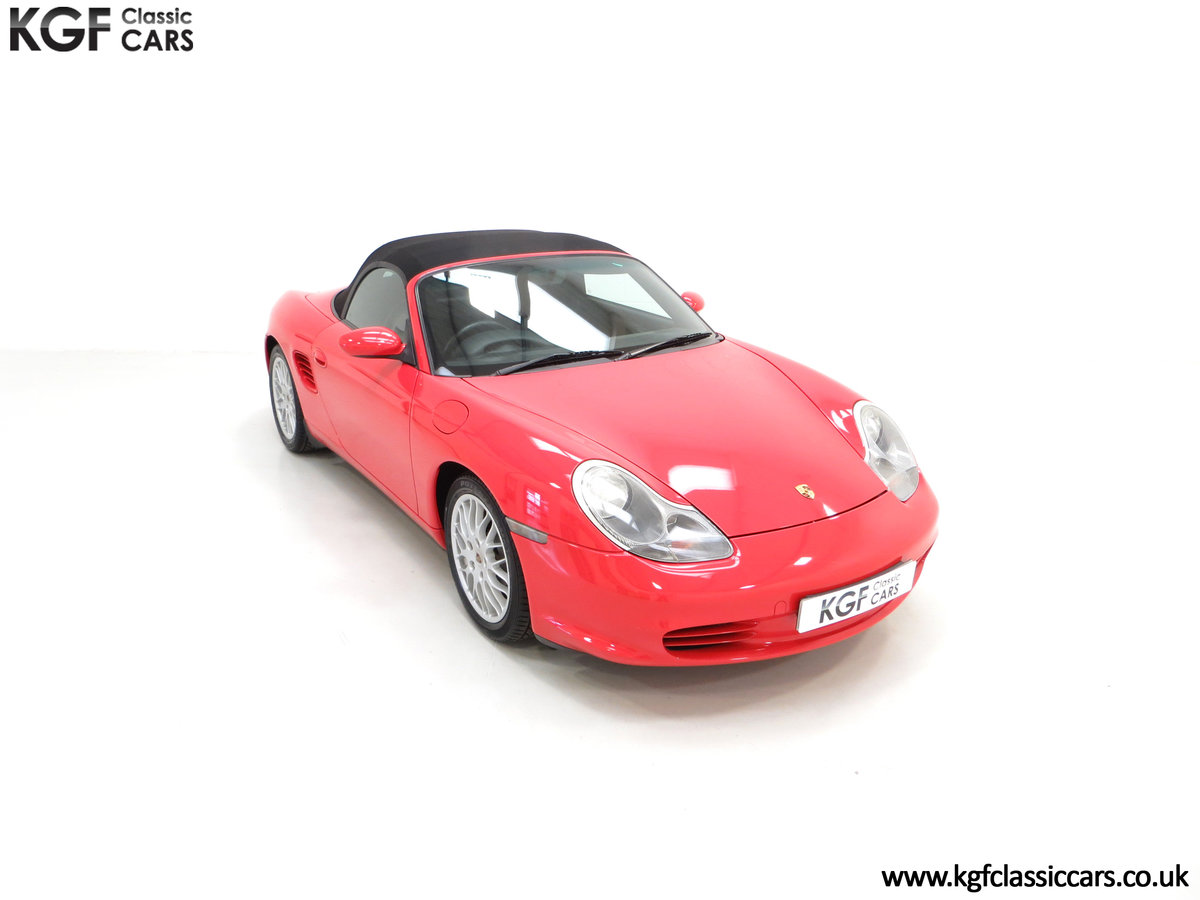 2004 A Late Porsche Boxster 986 with 25584 Miles and Full History SOLD (picture 2 of 24)