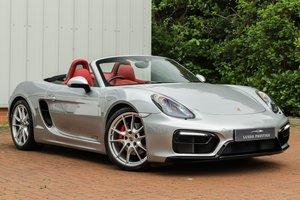 2014 Porsche 981 Boxster GTS 1 Owner, Porsche Warranty to 2021