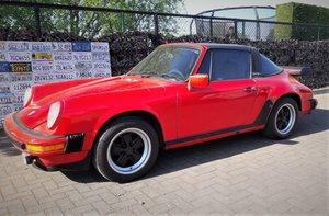 1982 LHD Porsche 911 sc 3.0 Targa red LEFT HAND DRIVE