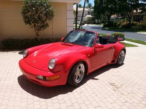Porsche 911 Cabriolet Turbo look 1983 SC
