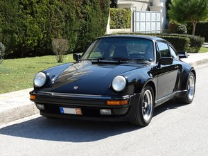 1987 Porsche 930, triple black, exceptionally preserved SOLD