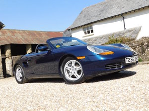 1999 Porsche 986 Boxster 2.5 - 45k miles, excellent throughout