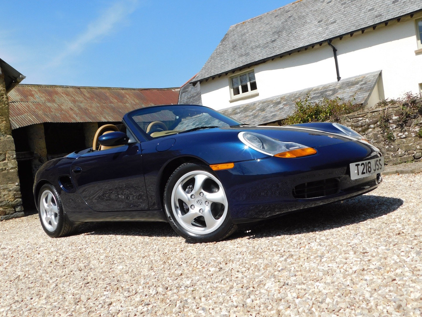 1999 Porsche Boxster 2.5 manual - 16k miles, 2 owners, incredible SOLD (picture 1 of 6)
