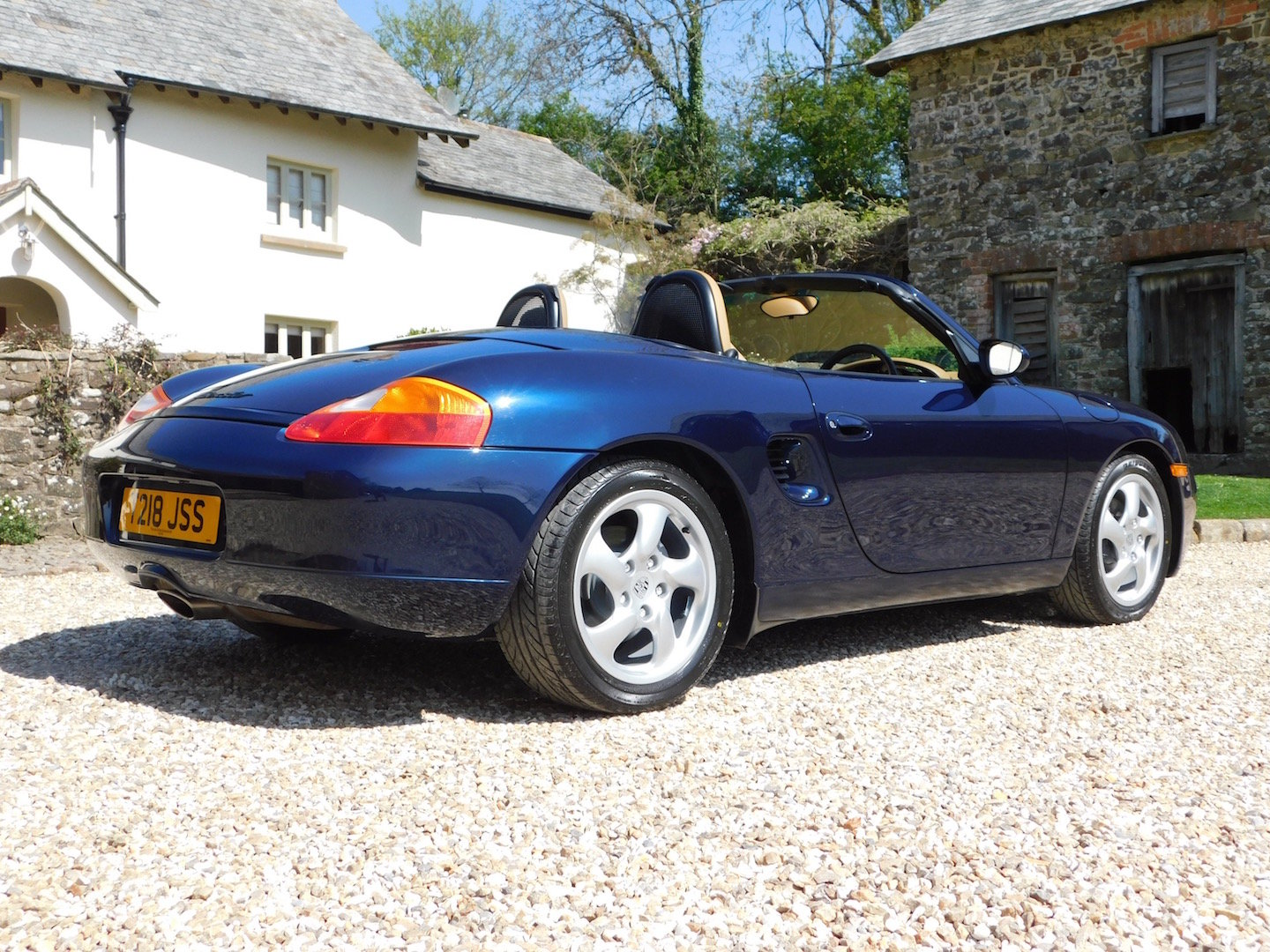 1999 Porsche Boxster 2.5 manual - 16k miles, 2 owners, incredible SOLD (picture 2 of 6)