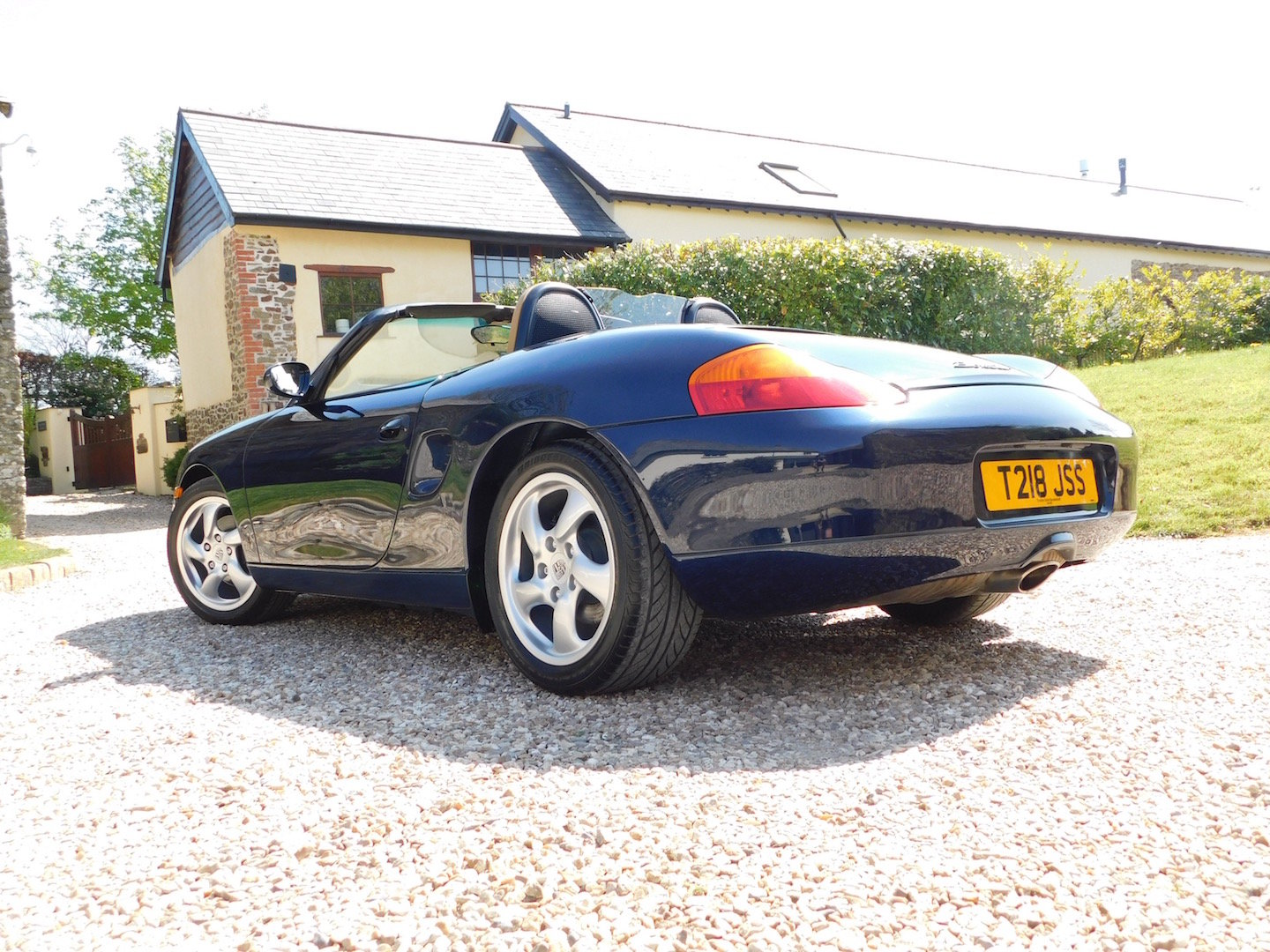 1999 Porsche Boxster 2.5 manual - 16k miles, 2 owners, incredible SOLD (picture 3 of 6)