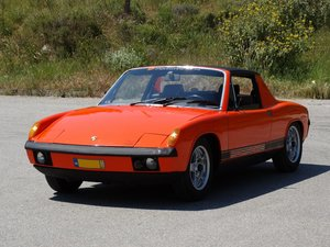 1971  Porsche 914/4, fully restored