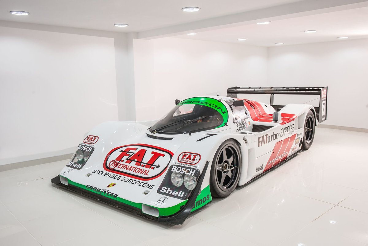 1989 Porsche 962-011 The fastest & ultimate 'works' Porsche 962 For Sale (picture 3 of 6)