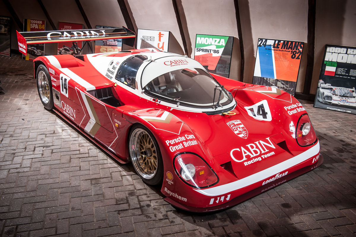 1988 Porsche 962-200 Derek Bell's 1989 World Championship Car For Sale (picture 3 of 6)