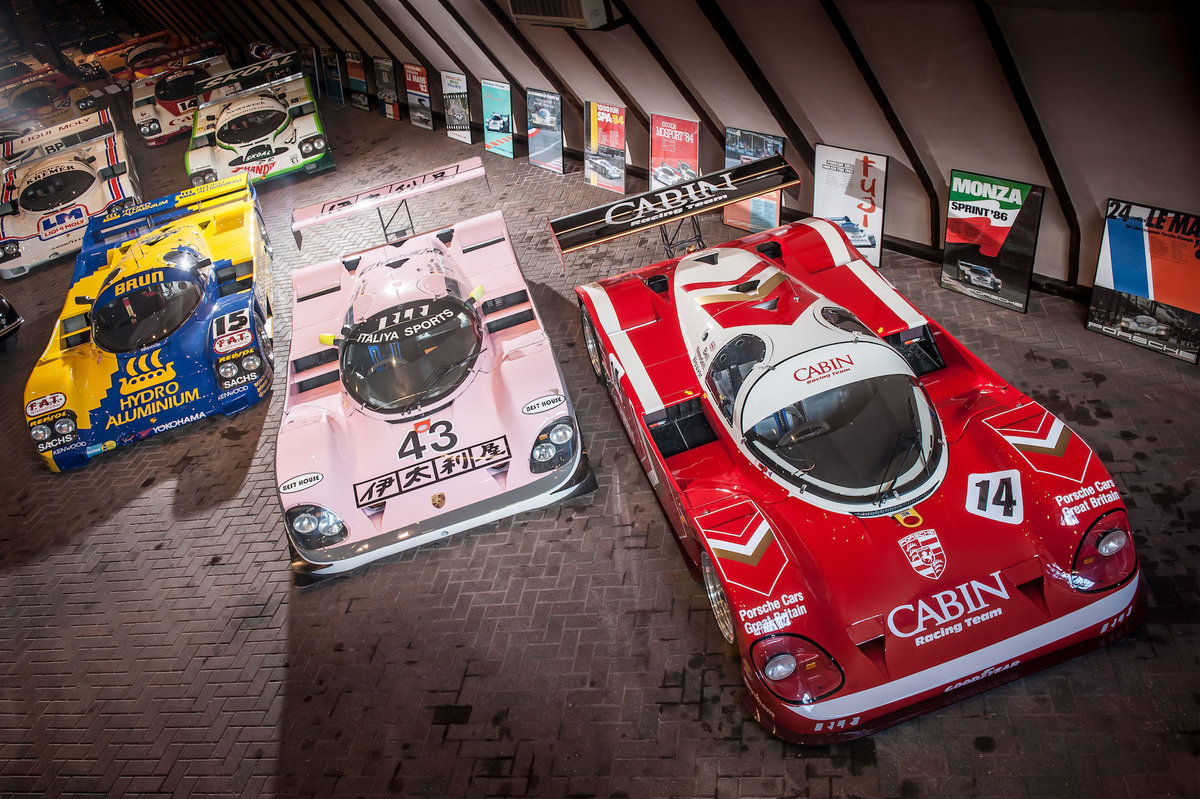 1988 Porsche 962-200 Derek Bell's 1989 World Championship Car For Sale (picture 4 of 6)