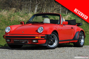 Picture of 1988 RESERVED - Porsche 911 Carrera 3.2 Supersport M491 cabrio SOLD