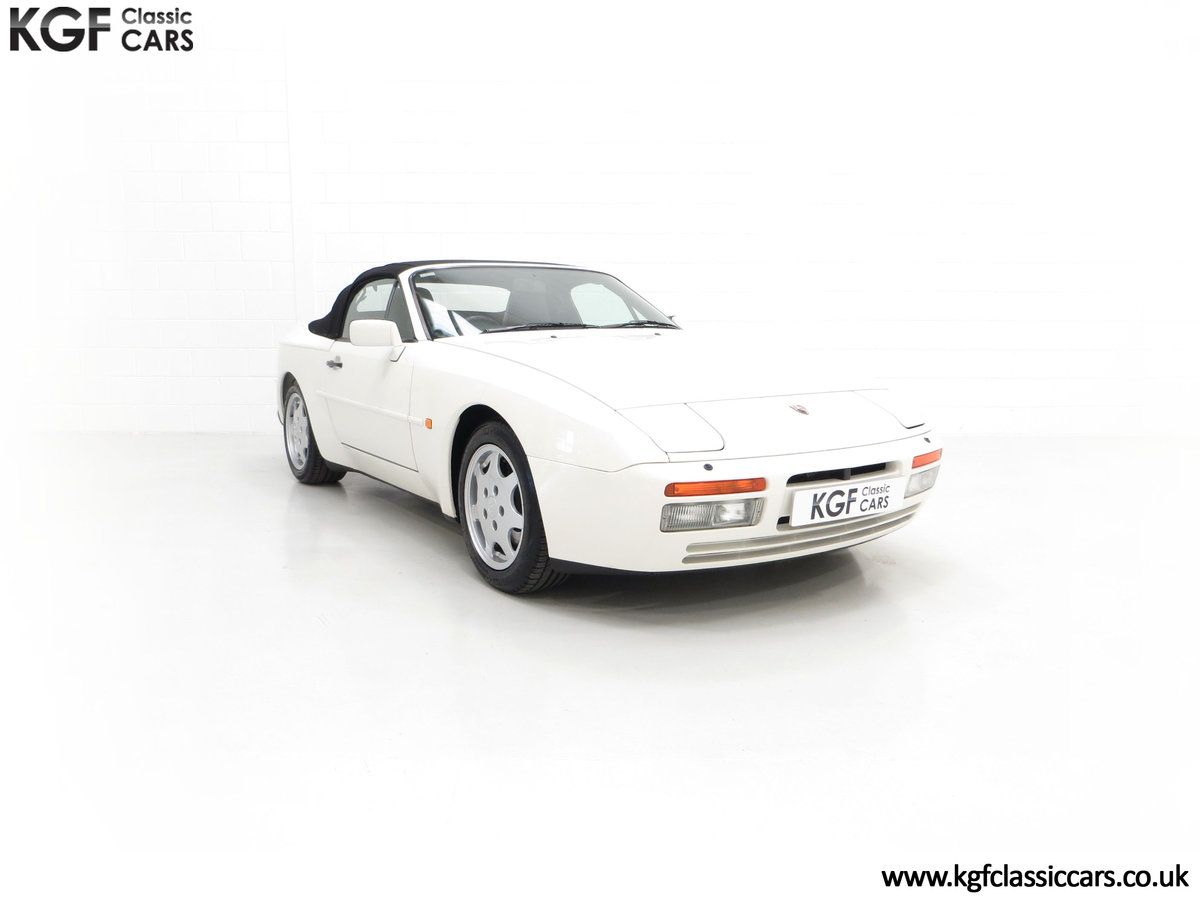 1989 A Collectors Porsche 944 S2 Cabriolet with 12,379 Miles For Sale (picture 1 of 24)