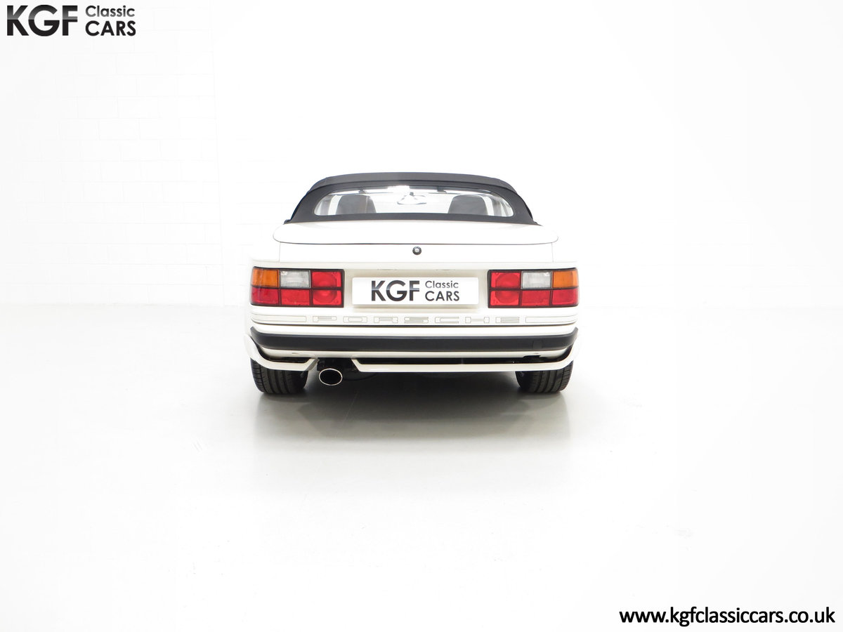 1989 A Collectors Porsche 944 S2 Cabriolet with 12,379 Miles For Sale (picture 10 of 24)