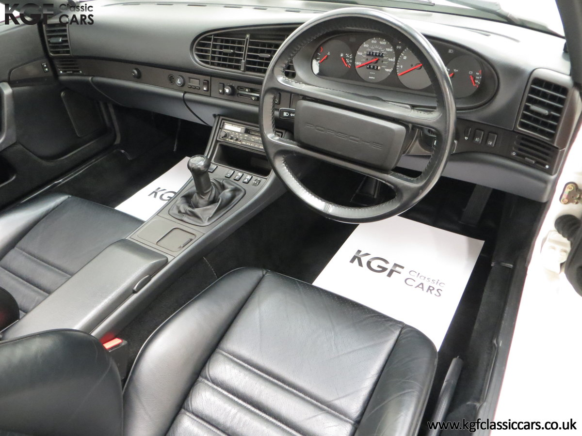 1989 A Collectors Porsche 944 S2 Cabriolet with 12,379 Miles For Sale (picture 18 of 24)