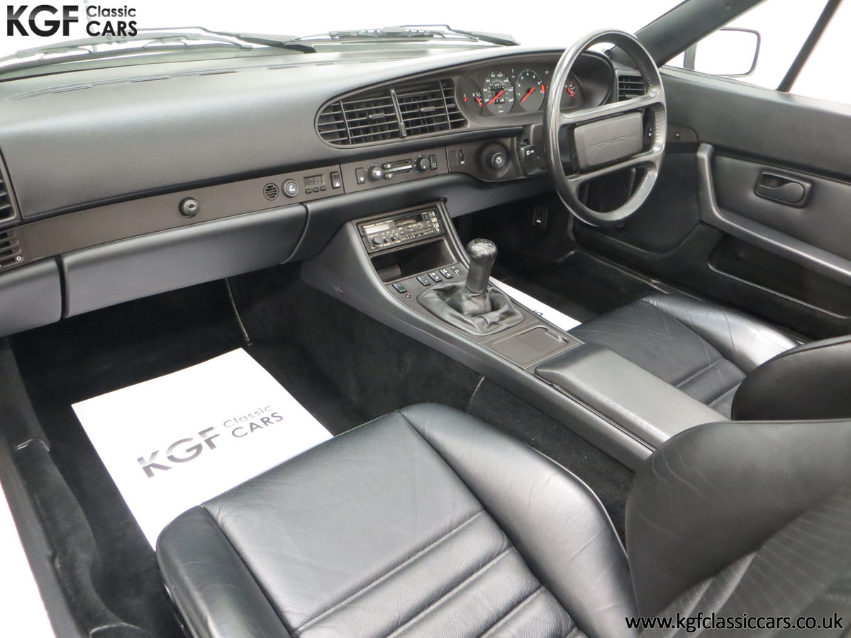 1989 A Collectors Porsche 944 S2 Cabriolet with 12,379 Miles For Sale (picture 22 of 24)