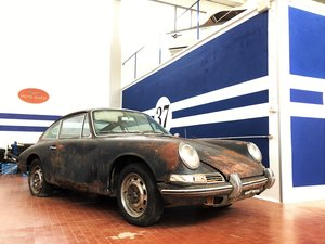 1965 Porsche 912 with Air/Cooling - restoration project