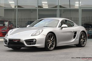 Porsche 981 Cayman PDK (£10k of options)