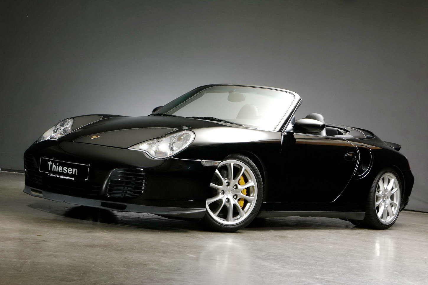 2005 Porsche 996 Turbo S Cabriolet For Sale (picture 1 of 6)