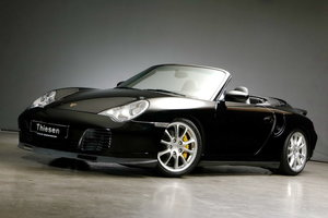 2005 Porsche 996 Turbo S Cabriolet For Sale
