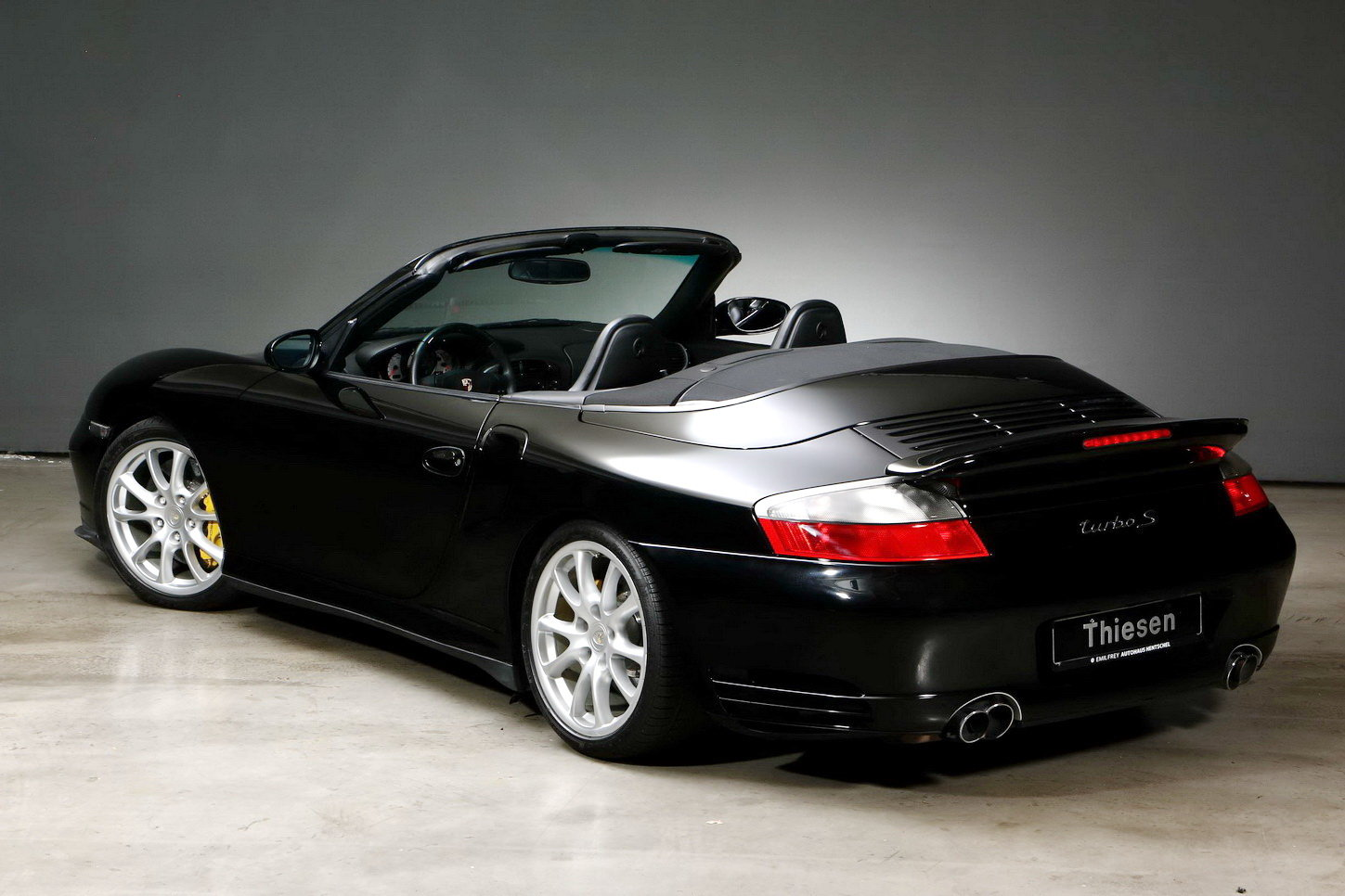 2005 Porsche 996 Turbo S Cabriolet For Sale (picture 4 of 6)