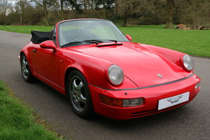 1990 911 Carrera 2 Cb 3.6 2dr Convertible Manual  For Sale