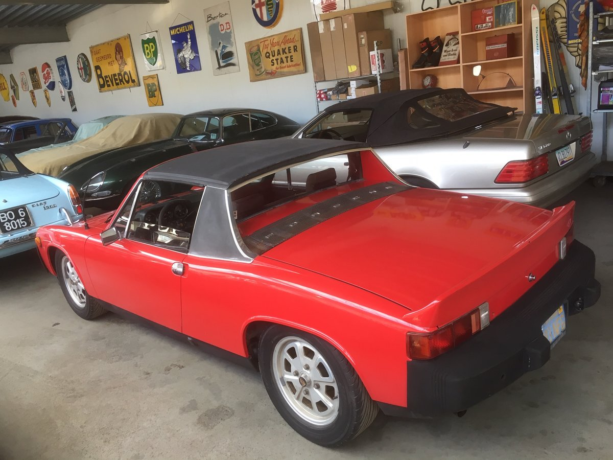 Porsche 914 Targa 1975 For Sale (picture 2 of 6)