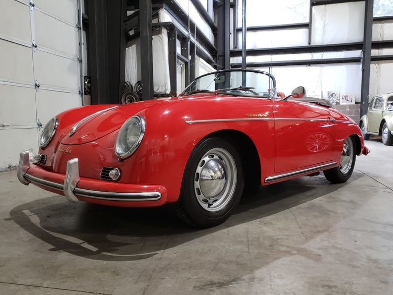 1956 Porsche 356A Speedster 1600 For Sale by Auction (picture 1 of 5)