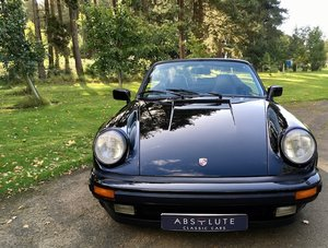 Porsche 911 Turbo Cabriolet 49k miles, FSH, Simply the Best!