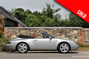 1998 RESERVED - Porsche 993 Carrera 4 cabriolet manual SOLD