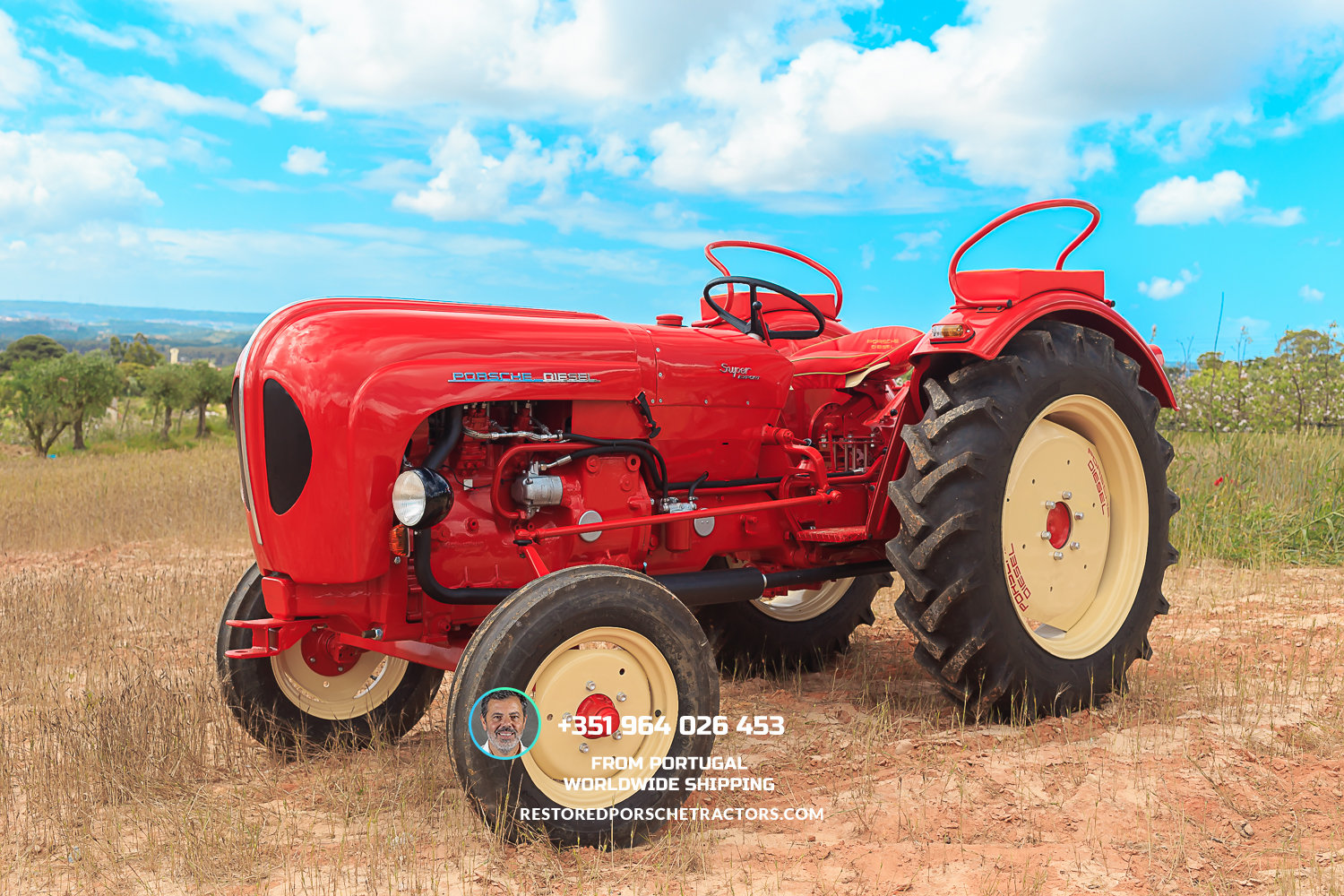 1961 Porsche Diesel Tractor For Sale (picture 1 of 6)