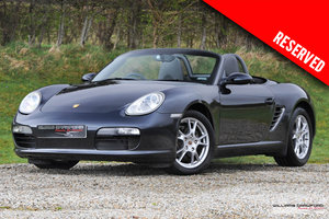 2006 RESERVED - Porsche 987 Boxster manual SOLD