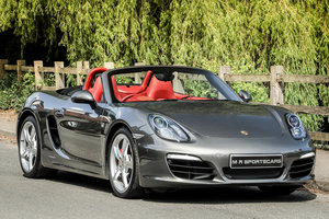 Porsche Boxster S 981 PDK Agate Grey Special Order