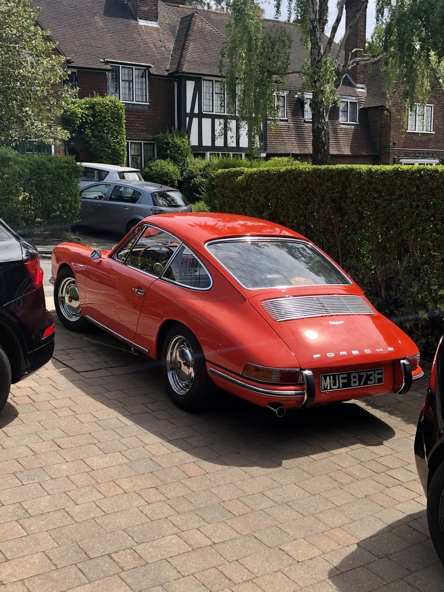 1968 Porsche 912 coupe - Cover Star - stunning For Sale (picture 1 of 6)