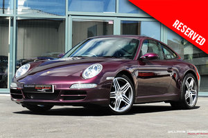 2005 (2006 MY) RESERVED Porsche 997 Carrera 2 manual coupe SOLD