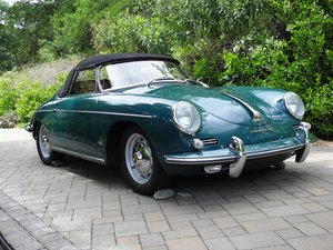 Beautiful fjord green 356 B-Roadster!
