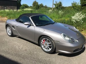 2003 Porsche Boxster S 30/5/20 SOLD by Auction