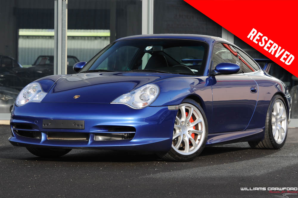 2004 RESERVED - low miles Porsche 996 GT3 LHD For Sale (picture 1 of 6)