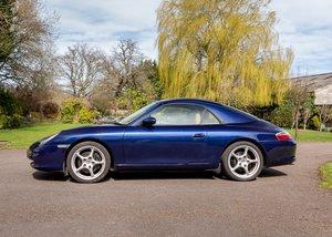 2003 Porsche Carrera 996 Convertible For Sale by Auction