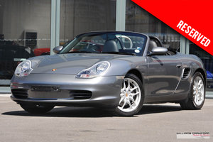 2004 RESERVED - Porsche 986 Boxster manual SOLD