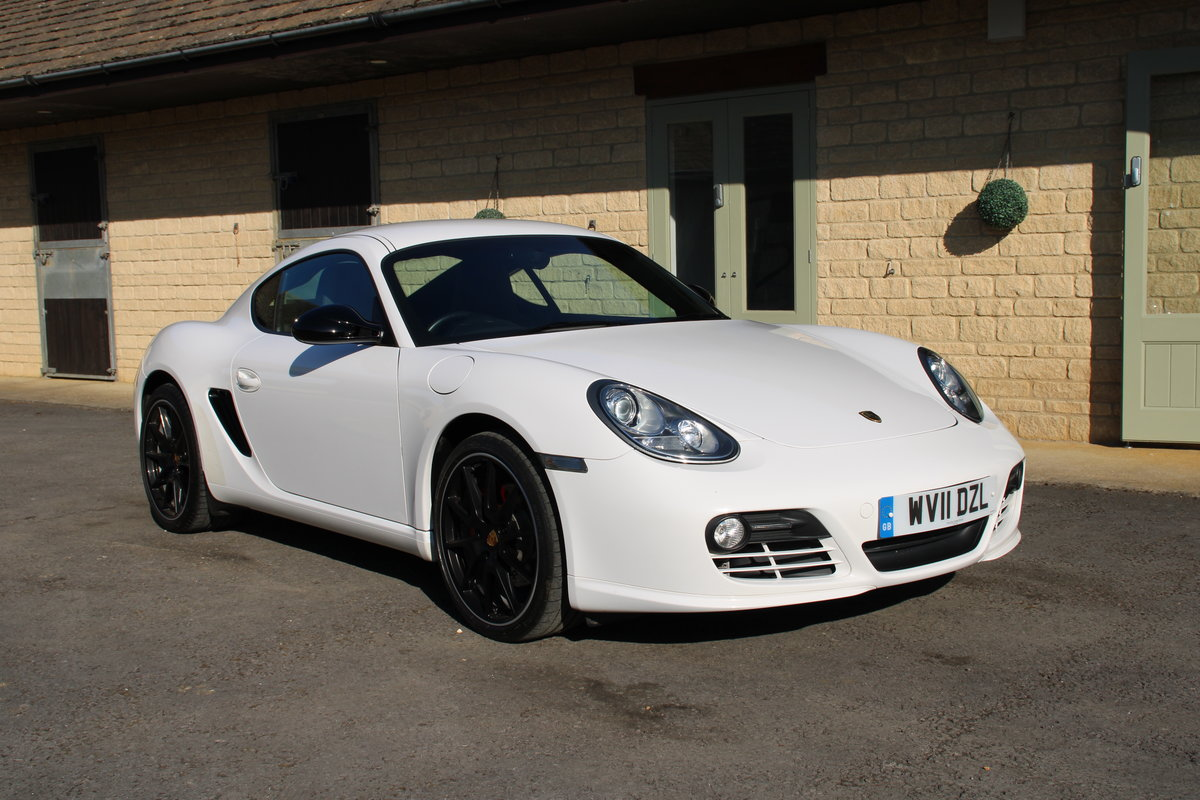 2011 PORSCHE CAYMAN 3.4 S – 35,000 MILES – £27,950 For Sale (picture 1 of 6)